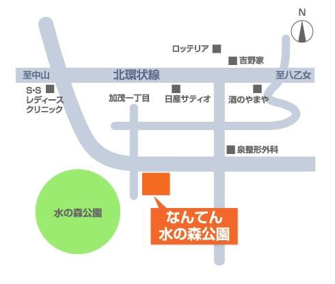 nanten-mizunomori-map