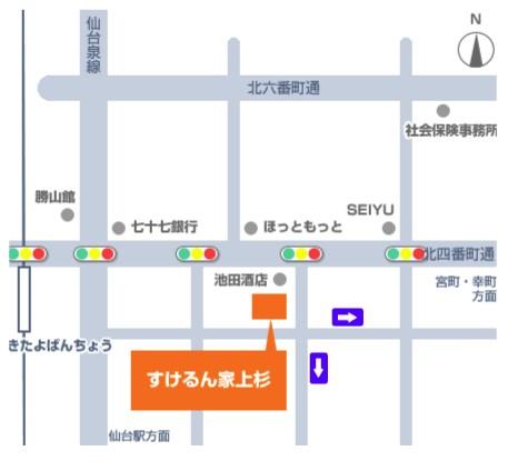 sukerunya-kamisugi-map